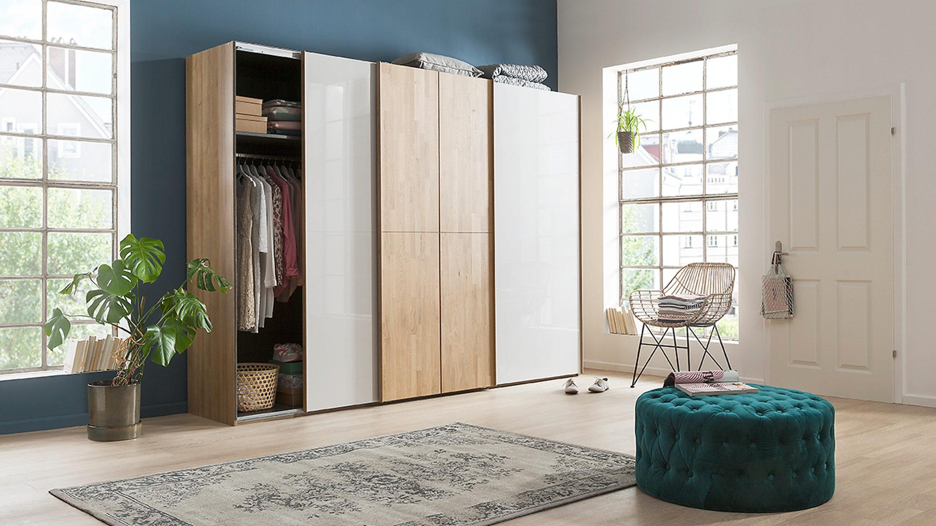 Möbel Bohn Crailsheim, Räume, Schlafzimmer, Kleiderschränke, rauch ...