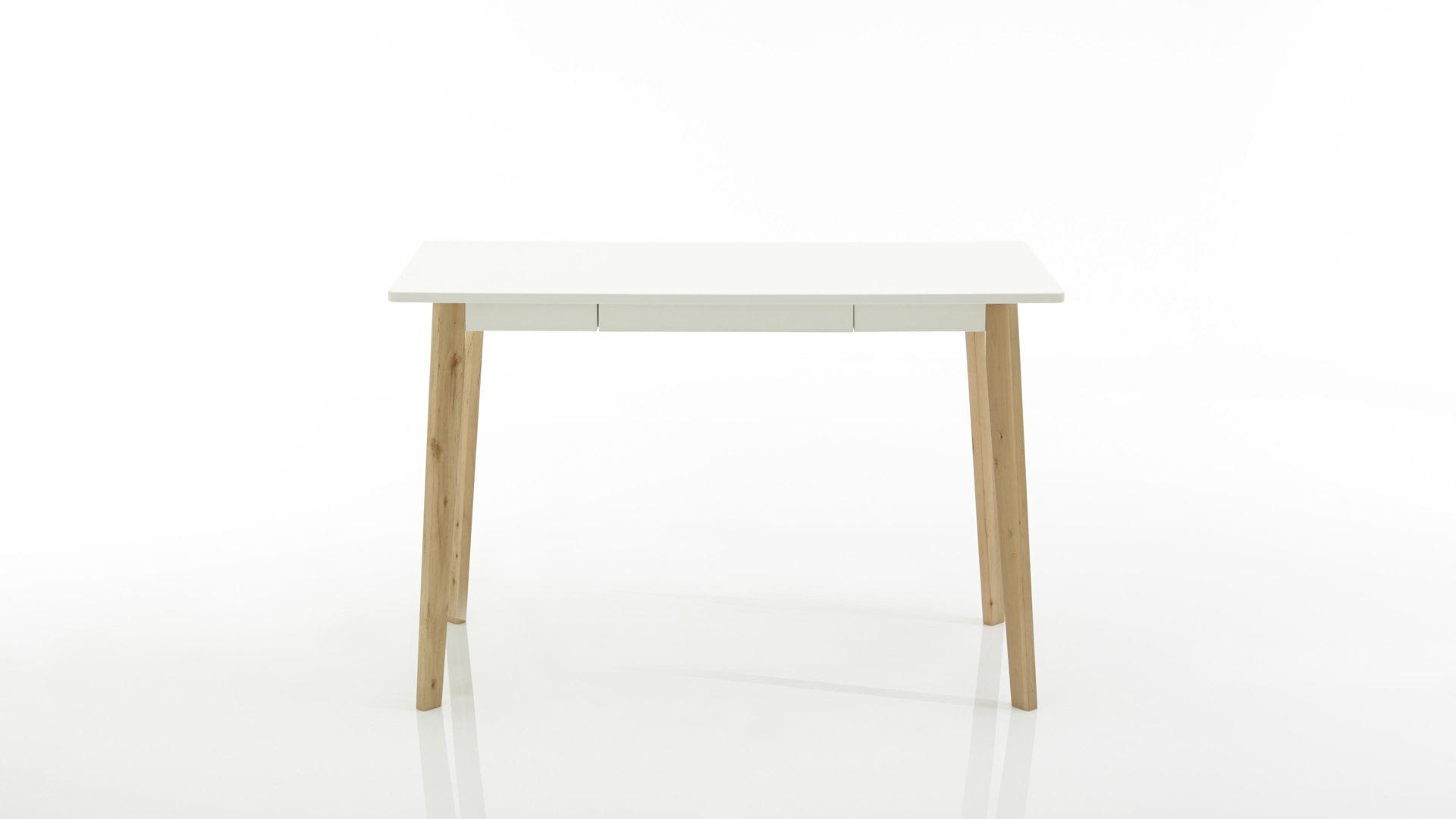 Schreibtisch holz weiß  Möbel Bohn Crailsheim | Möbel A-Z | Tische | Schreibtische | Retro ...