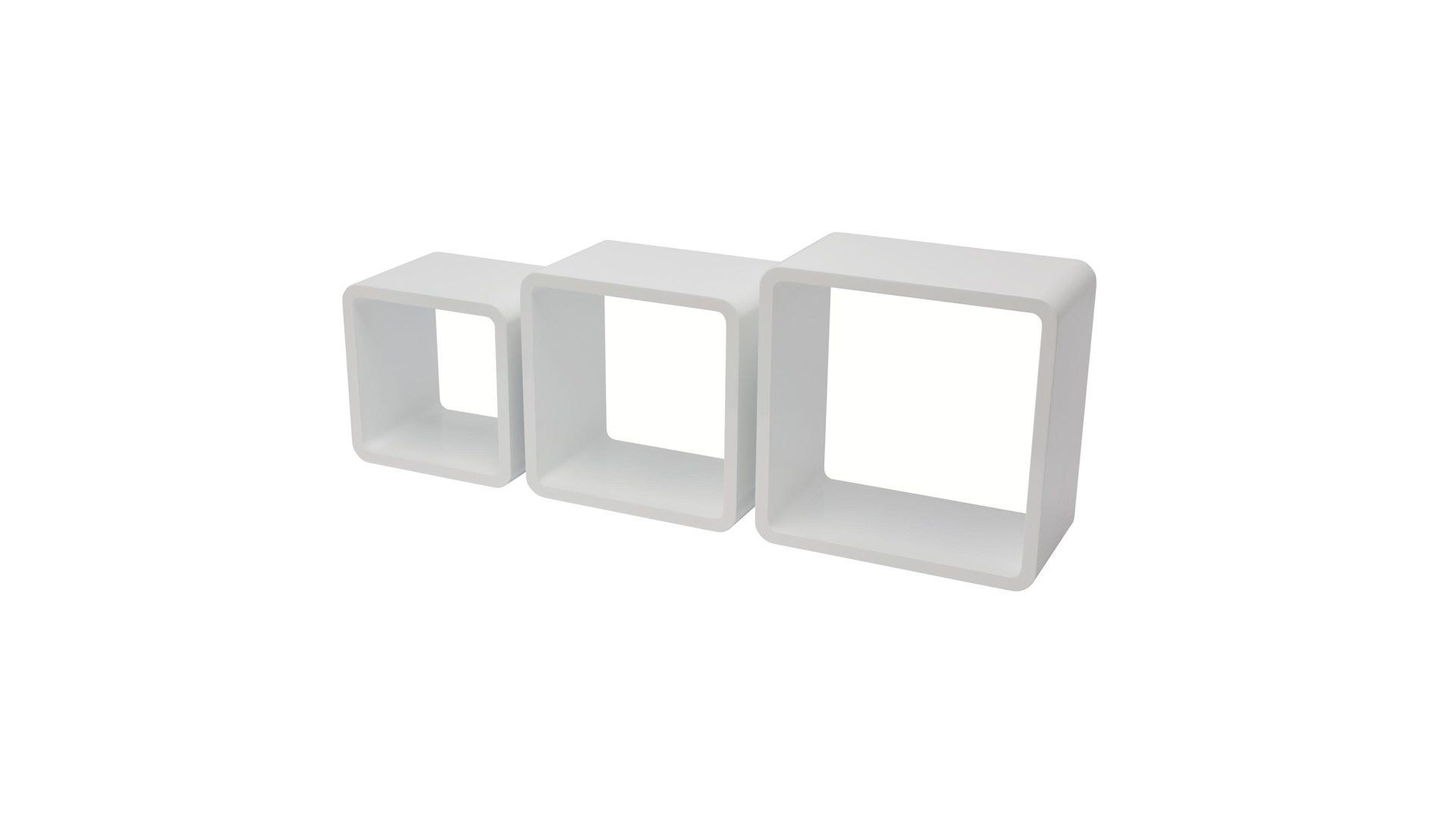 Möbel Bohn Crailsheim, Räume, Wohnzimmer, Regale + Raumteiler, Quadratisches,  Quadratisches Regal Set Als Wohnzimmermöbel, Weiß Lackierte ...